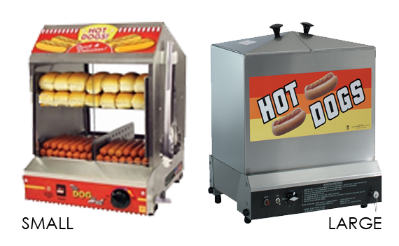 Hot Dog Machine Rental: The Fudge Shop