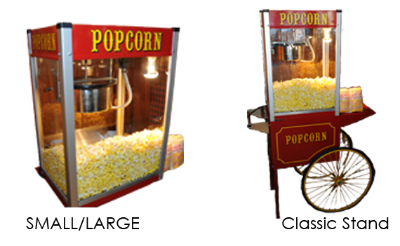 Popcorn Machine Rental: The Fudge Shop